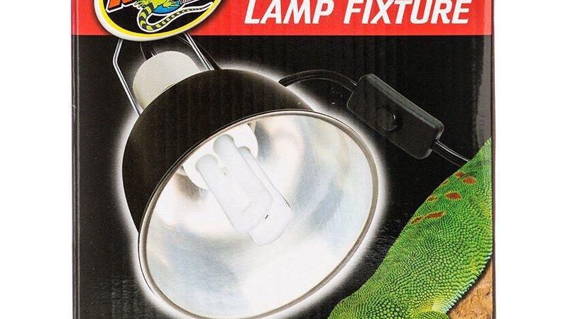 Zoo Med Mini Deep Dome Lamp Fixture - Black