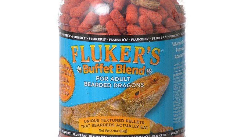 Flukers Buffet Blend for Adult Bearded Dragons