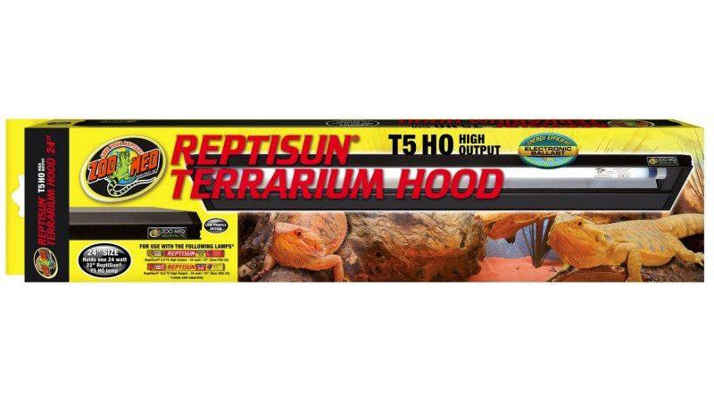 Zoo Med ReptiSun HO T5 Terrarium Hood