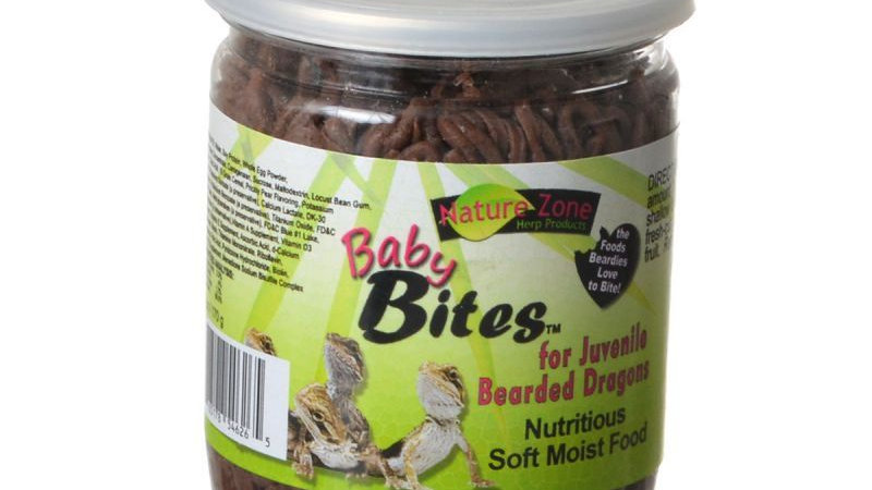Nature Zone Nutri Baby Bites for Bearded Dragons