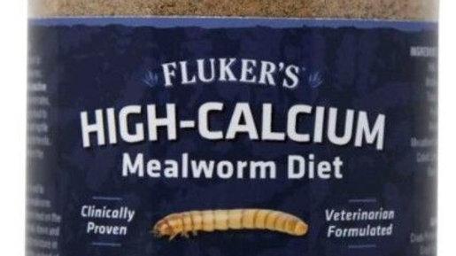 Flukers High-Calcium Mealworm Diet