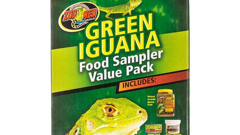 Zoo Med Green Iguana Foods Sampler Value Pack