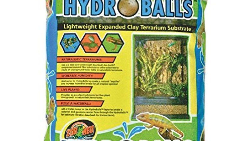 Zoo Med HydroBalls Clay Terrarium Substrate