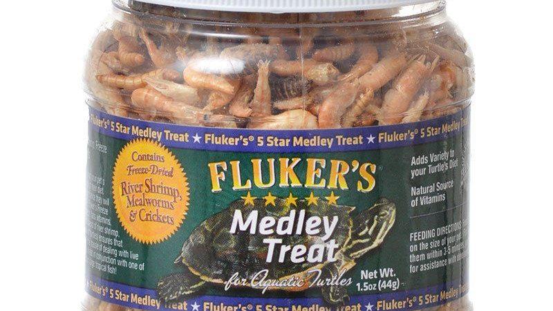Flukers Medley Treat for Aquatic Turtles