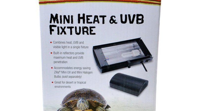 Zilla Mini Heat & UVB Fixture