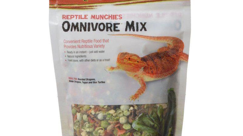 Zilla Reptile Munchies - Omnivore Mix