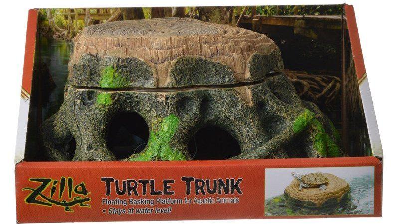 Zilla Freestanding Floating Basking Platform - Turtle Trunk
