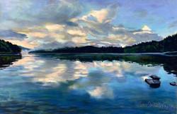 Summer Evening Reflection