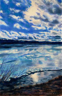 Water on Ice on Water- Sadawga II
