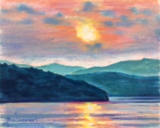 Green Mountain Sunset