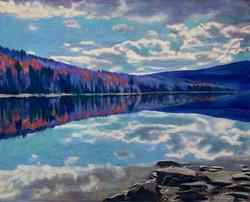 Ward's Cove IV- Autumn Reflection
