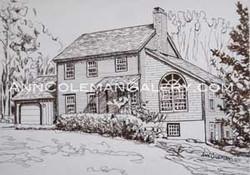 House-Pen-&-Ink