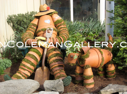 "The Constant Gardener & Dog ""Digger"""