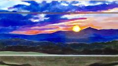 """""""Ridgeline Sunset"""""""