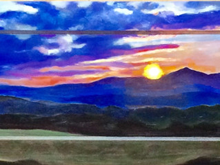 """Ridgeline Sunset"""