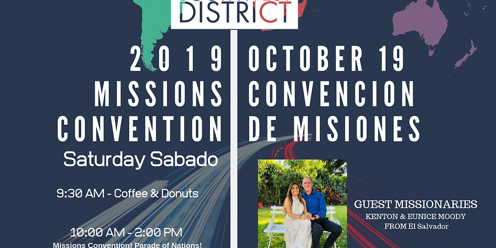 SWD 2019 Missions Convention Register online to secure your meal!