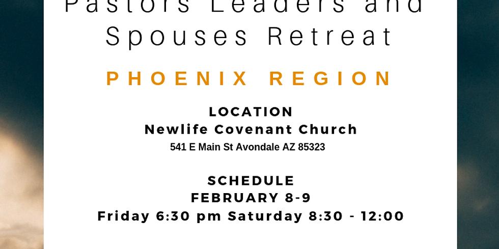 Pastors leaders and spouses Retreat