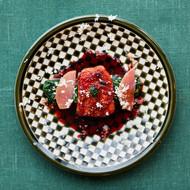 Gös med rödbetsterriyaki