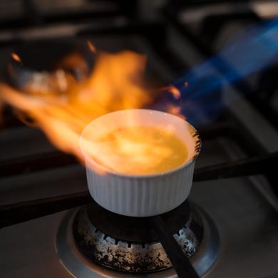 Thai crème brûlée