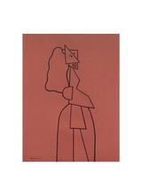 Woman at the opera