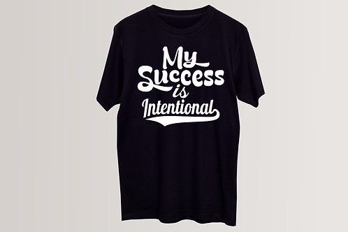 My Success is Intentional (Men)