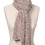 Thumbnail: New Wave Scarf Natural/Merlot
