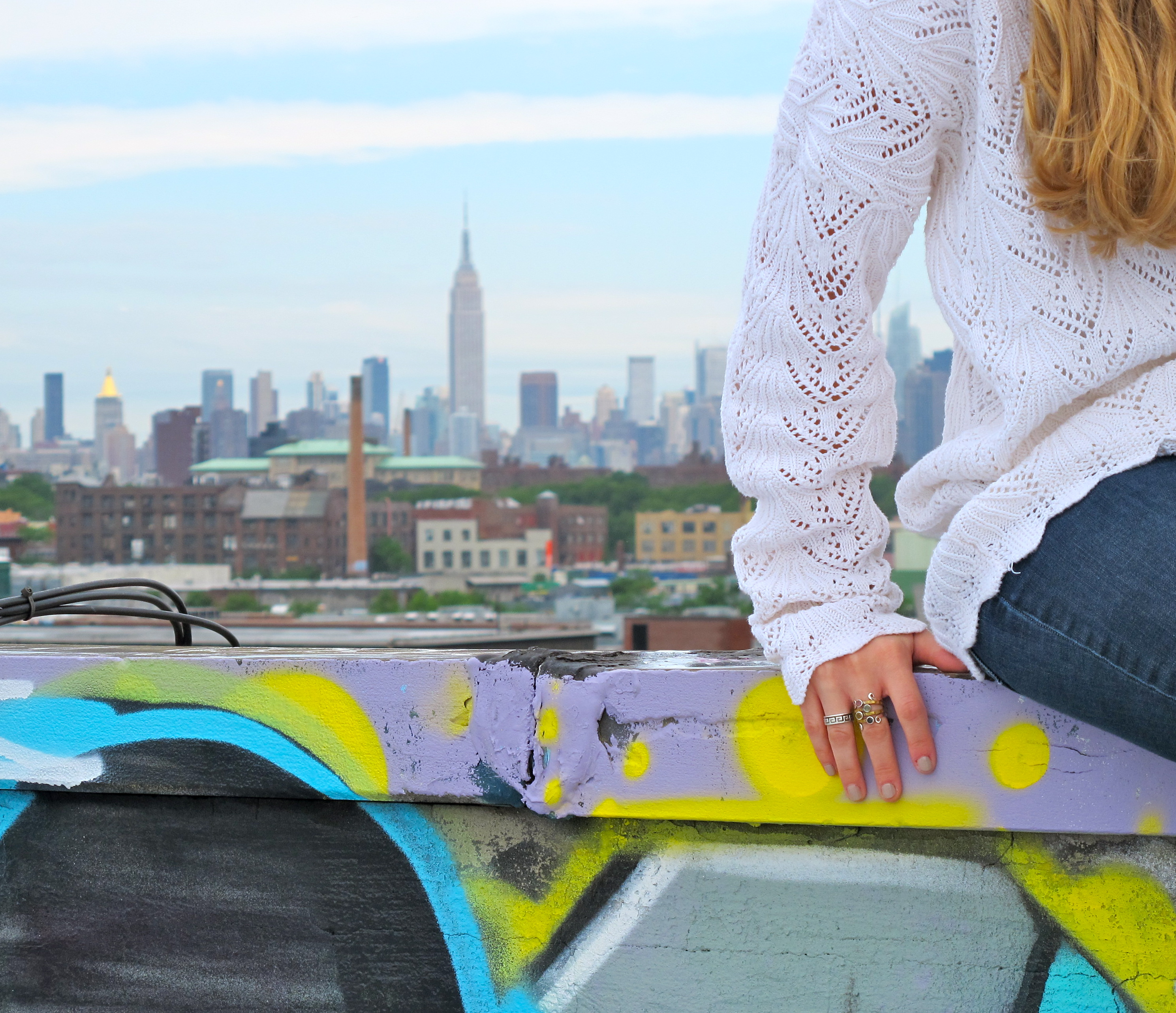 Signature Sweater | Brooklyn Rooftop
