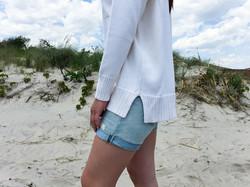 Jewel Neck | Knit-In Pocket