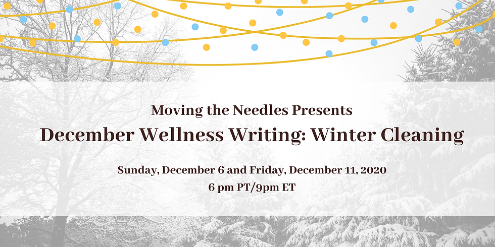 December Wellness Writing