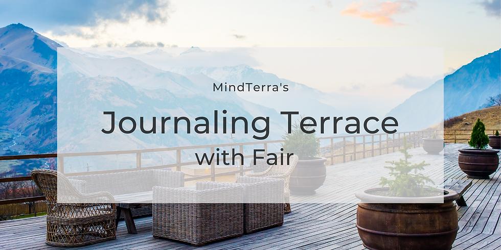 Journaling Terrace: What's my purpose?