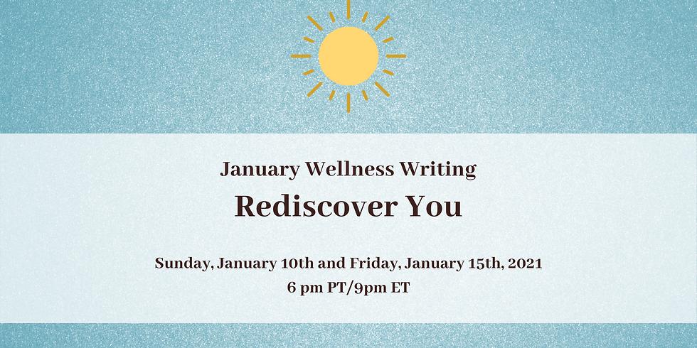 January Wellness Writing