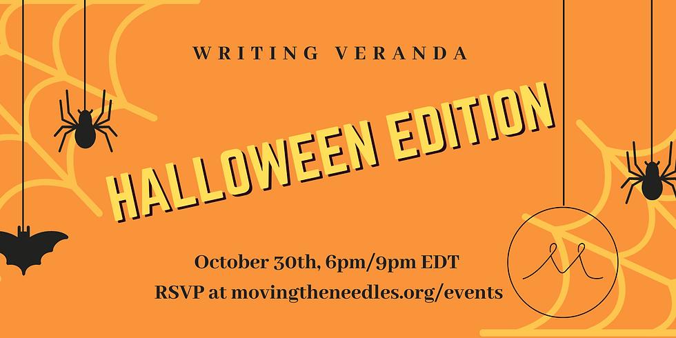 Writing Veranda with Müge Halloween Edition
