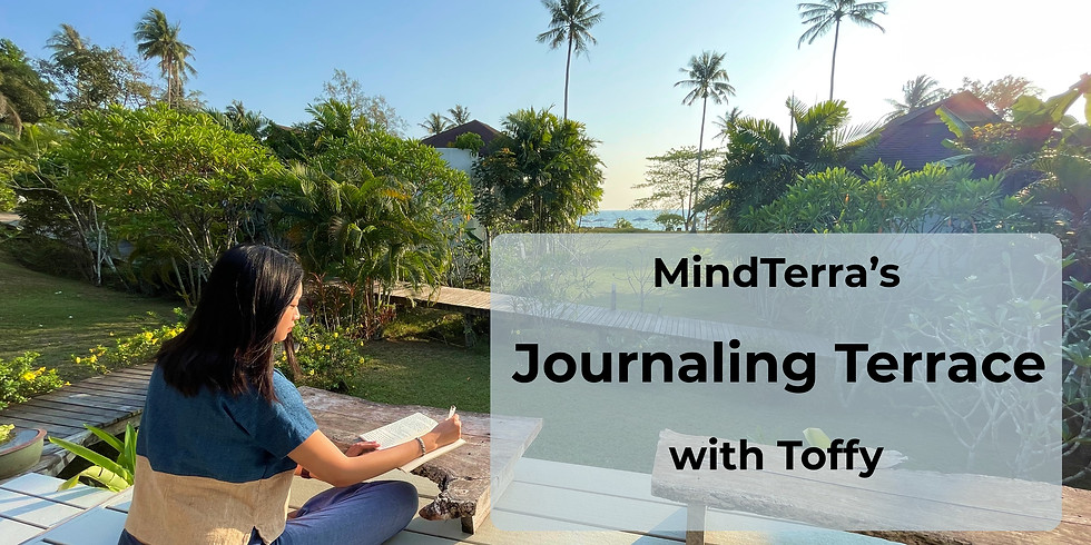 Journaling Terrace: Leaning into discomfort