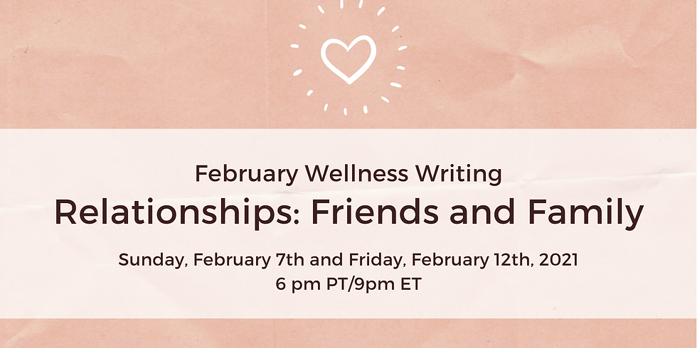 February Wellness Writing