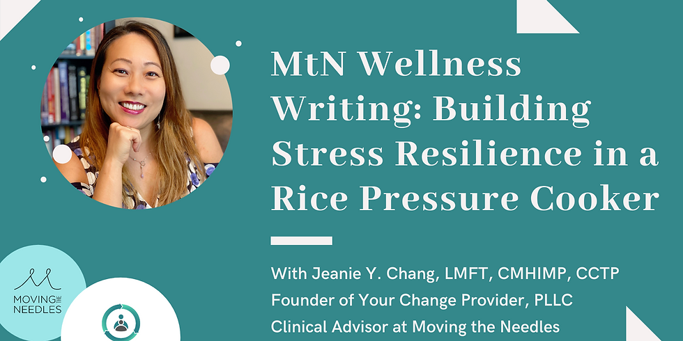 MtN Fundraiser - Building Stress Resilience in a Rice Pressure Cooker