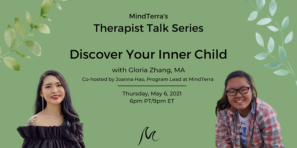 Discover Your Inner Child with Gloria Zhang, MA
