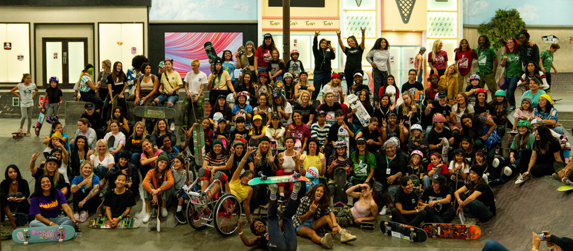 11th annual ladies day at the berrics snapshots