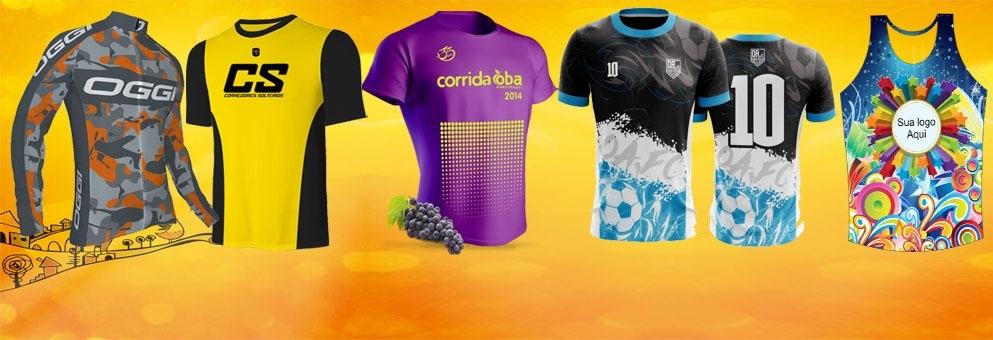 Camisas para Equipes e eventos