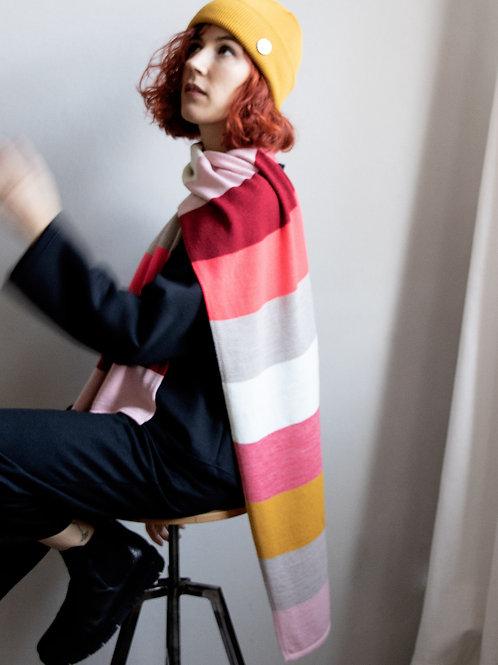 Regenbogen-Farbrausch Schal
