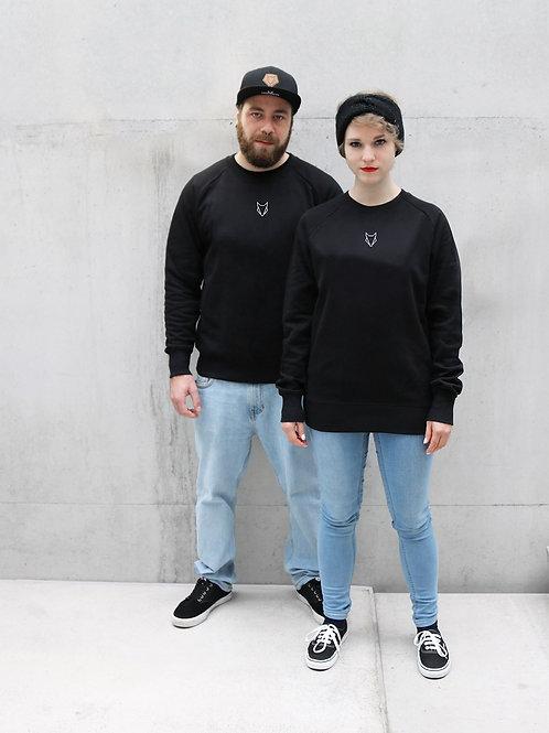 Pullover Fuchs Unisex black