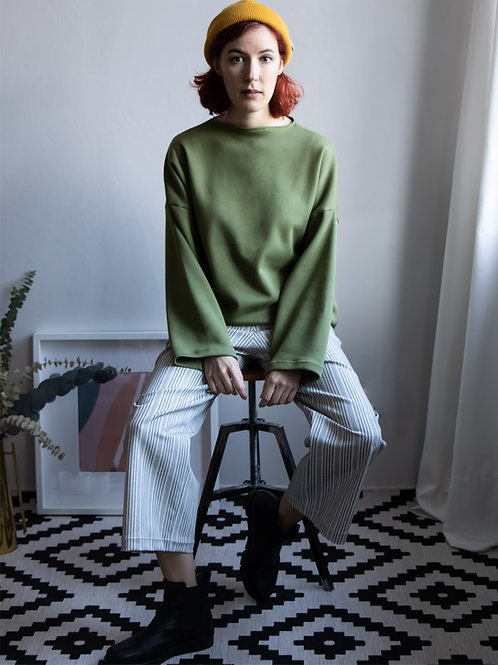 Turtleneck Pullover Grasgeflüster