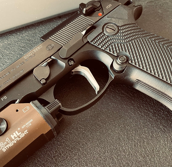 Beretta 92/96 Flat Faced Trigger