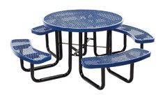 L2-T6ROP Expanded 46' Round Picnic portable