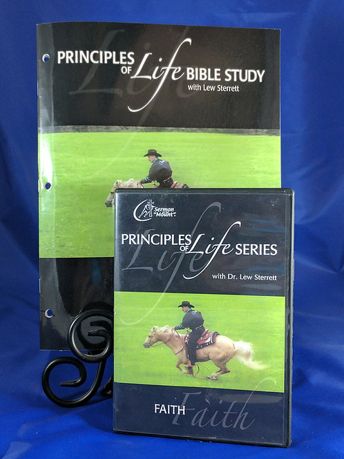 Principles of Life Series #1 Faith with Workbook
