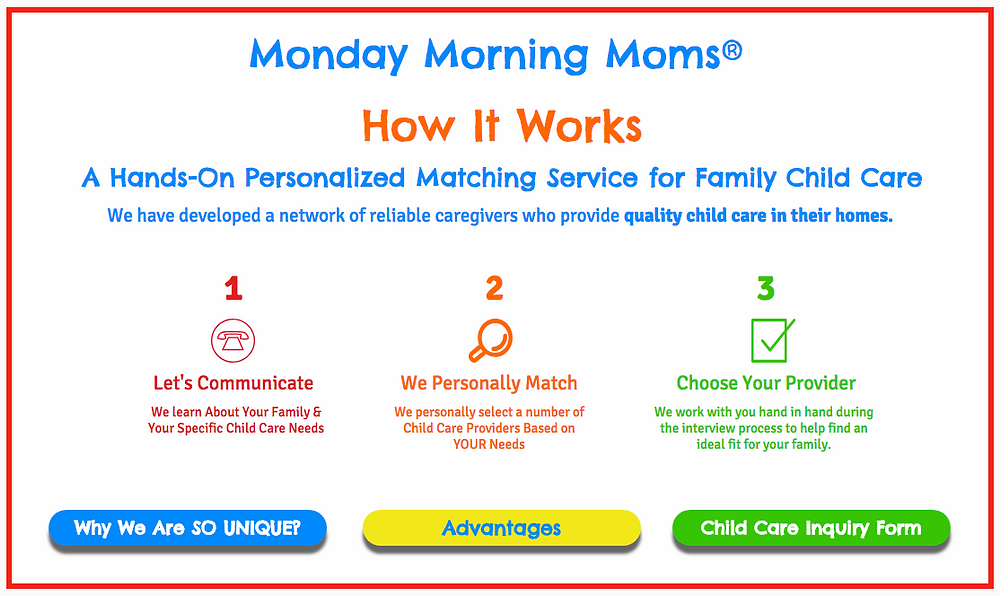 Monday Morning Moms Tips for Finding the Best Child Care