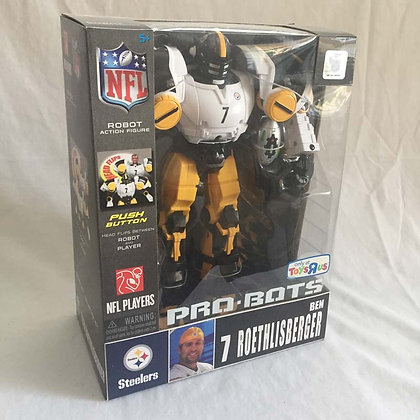 Ben Roethlisberger, Steelers, collectibles, toys, pee wee herman, star wars, star trek, simpsons, super heroes, weird toys