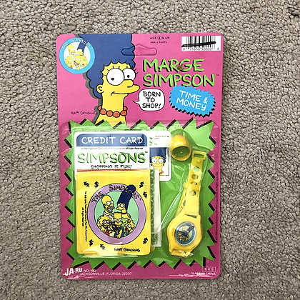Marge Simpson • Time & Money Set • 1990