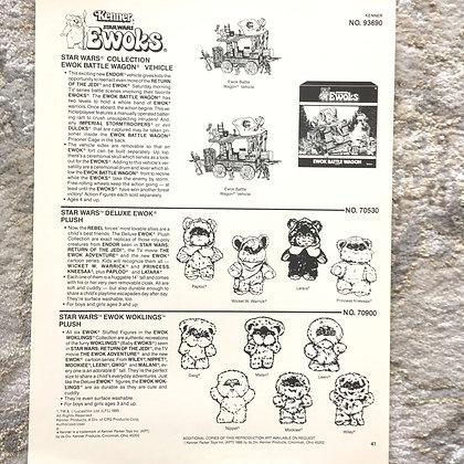 Kenner Ewoks Clip Art - 1985