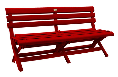 Westport Bench Red