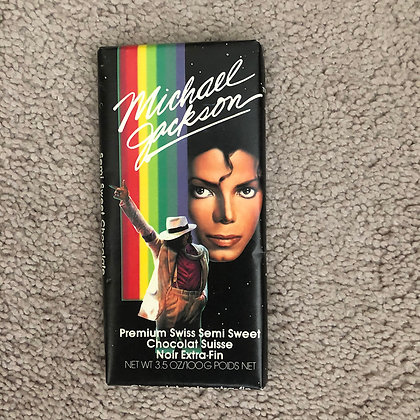 Michael Jackson 3.5 Oz. Chocolate Bar - 1989